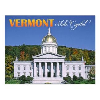 Vermont State Capitol building, Montpelier Postcard