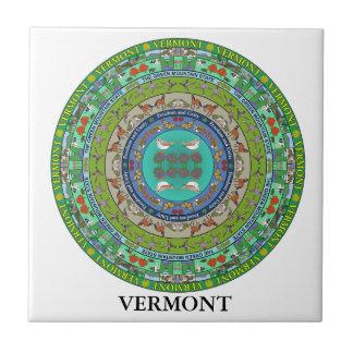 Vermont State Ceramic Tile