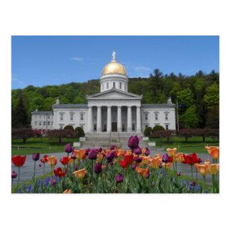 Vermont State House -Montpelier Postcard