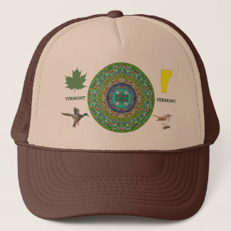 Vermont State Mandala Hat 2