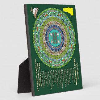 Vermont State Mandala Plaque