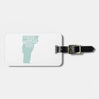 Vermont State Motto Slogan Luggage Tag