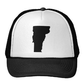 Vermont State Outline Trucker Hat