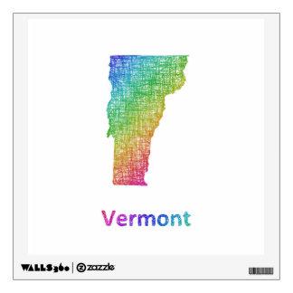 Vermont Wall Sticker