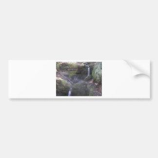 Vermont water falls bumper sticker