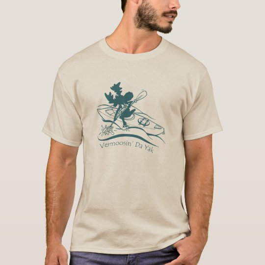 Vermoosin' Da Yak Sillhouette Illustrated T-shirt