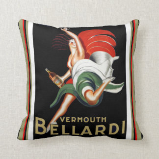 Vermouth Bellardi Art Deco Pillow