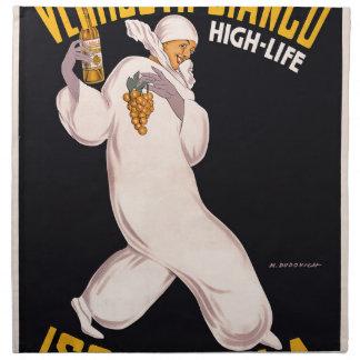 Vermouth Bianco, high-life, Isolabella Printed Napkin