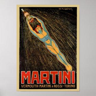 Vermouth de Martini Affiche