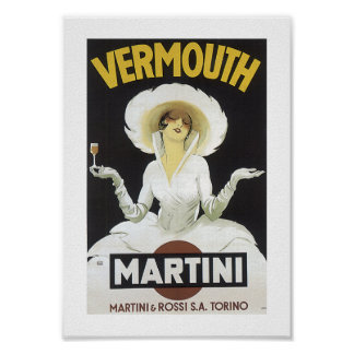 Vermouth Martini Poster