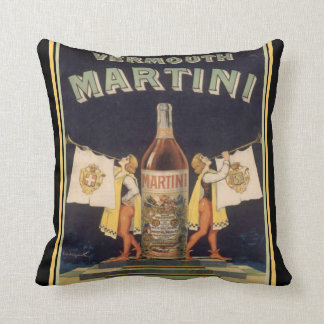 Vermouth Martini Throw Pillow