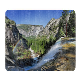 Vernal Fall from the Top - Yosemite Cutting Board