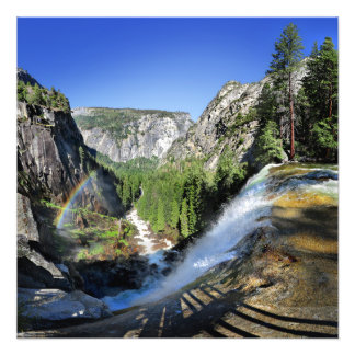 Vernal Fall from the Top - Yosemite Photo Print