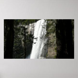 Vernal Falls III at Yosemite National Park Poster