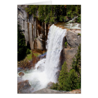Vernal Falls Overlook (Blank Inside) Card
