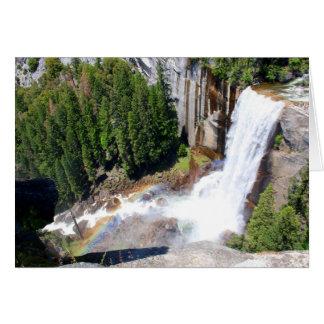 Vernal Falls Overlook (Custom Message) Card