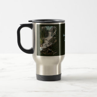 Vernal Falls Painted Travel Mug