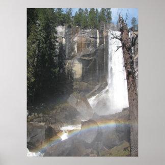 Vernal Falls Rainbow -Yosemite Print