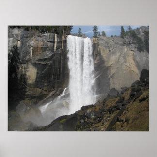 Vernal Falls- Yosemite Poster