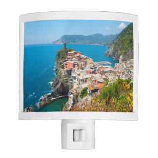 Vernazza Cinque Terre Italy Nite Lights