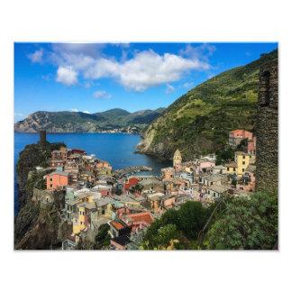 Vernazza, Cinque Terre, Italy - Photo Print