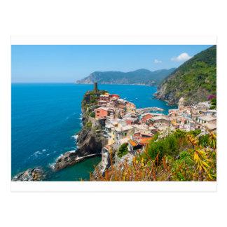 Vernazza Cinque Terre Italy Postcard