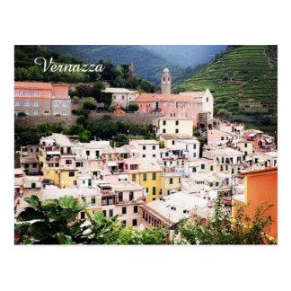 Vernazza, Cinque Terre, Italy Postcard