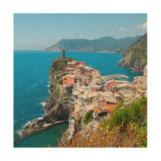 Vernazza Cinque Terre Italy Wood Print