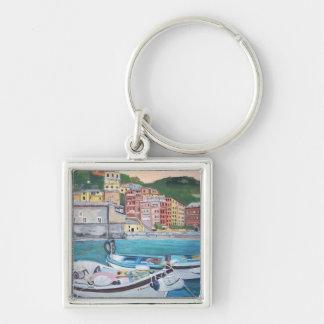 Vernazza Harbor - Keychain