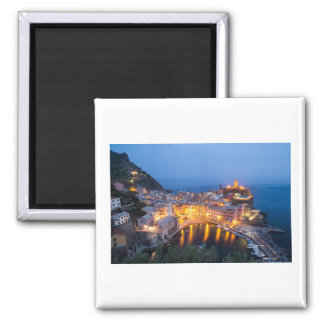 Vernazza Italy Travel Square Magnet