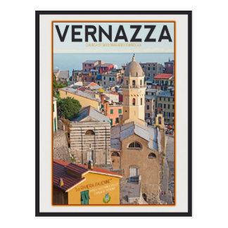 Vernazza (white) postcard