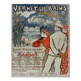 Vernet Les Bains Absolutely Beautiful Poster