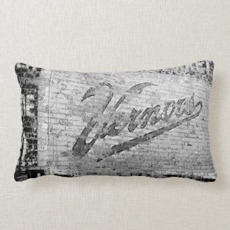 Vernor's Brick Wall Ann Arbor Michigan 1999 Lumbar Pillow