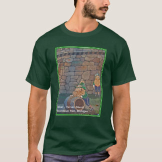 Vernors Mural detail T-Shirt