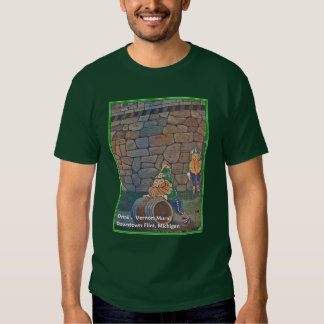 Vernors Mural detail Tshirts