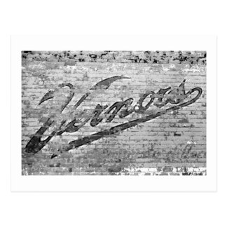 Vernors Wall Ann Arbor, Michigan Postcard