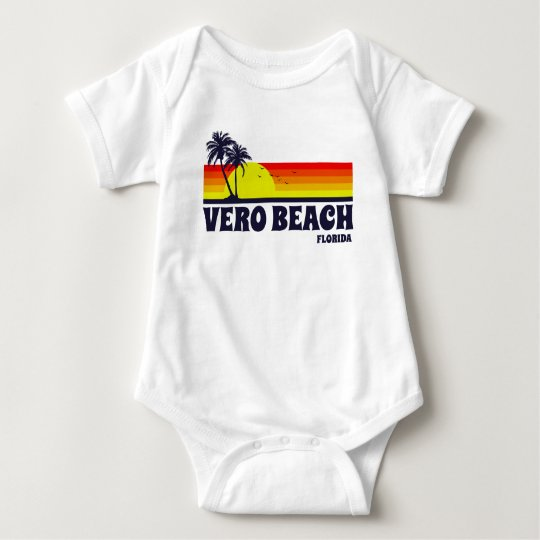 Vero Beach Florida Baby Bodysuit