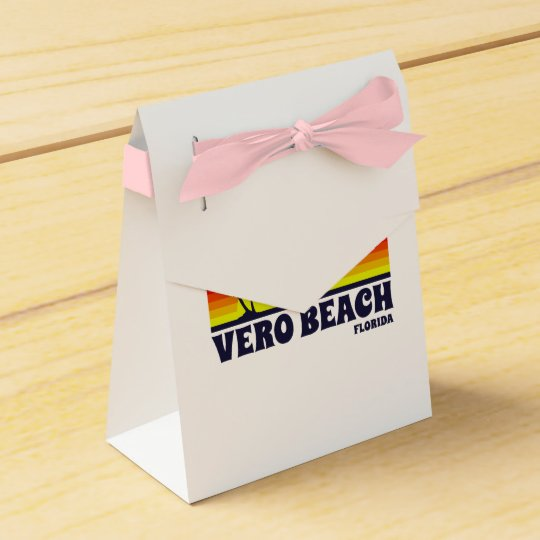 Vero Beach Florida Favor Box
