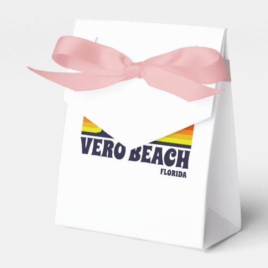 Vero Beach Florida Wedding Favor Box
