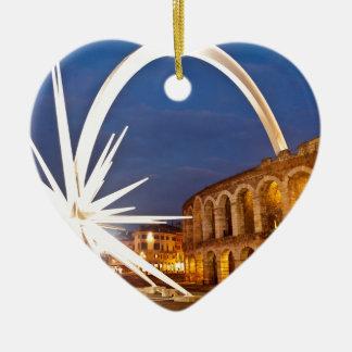 Verona Arena with Starburst Ceramic Ornament