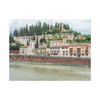 Verona Castel San Pietro canvas print