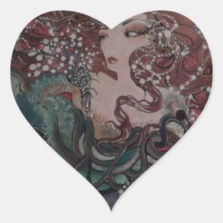 VeronicaWeaverakaVons Wings of Fate Heart Sticker