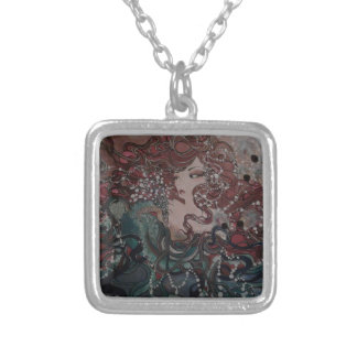 VeronicaWeaverakaVons Wings of Fate Silver Plated Necklace