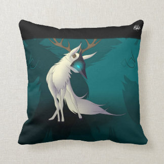 Verra the White Deer~ Throw  Pillow
