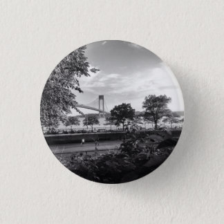 Verrazano Bridge Bridge 1 Inch Round Button
