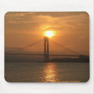 Verrazano bridge new york city mousepad
