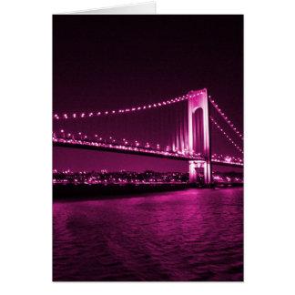 Verrazano Narrows Bridge card