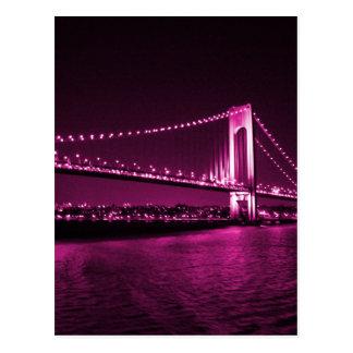 Verrazano Narrows Bridge postcard