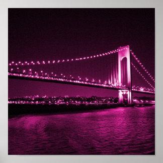 Verrazano Narrows Bridge print