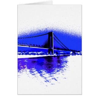 Verrazano Violet Bridge card